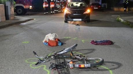 Bei einem schweren Verkehrsunfall, der sich am Montagabend gegen 20.30 Uhr in Vöhringen ereignet hat, ist ein Mann schwer verletzt worden.