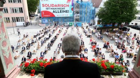 Ulms Oberbürgermeister Gunter Czisch hält auch in diesem Jahr wieder seine Schwörrede.
