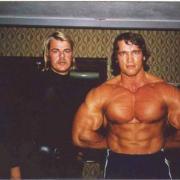 Wolfgang Spieker war mit Arnold Schwarzenegger befreundet. Er besuchte ihn mehrfach - aber immer heimlich.