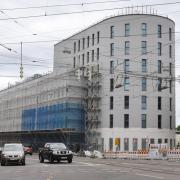 Nahe der Wertachbrücke entsteht an der Langenmantelstraße ein Leonardo-Hotel mit 235 Zimmern.