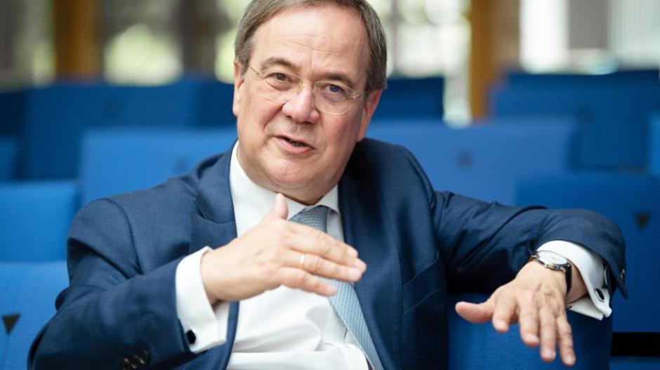 """""""Von mir wird es keine persönlichen Angriffe auf Mitbewerber geben. Wir streiten in der Sache"""", sagt Armin Laschet über den Wahlkampf."""