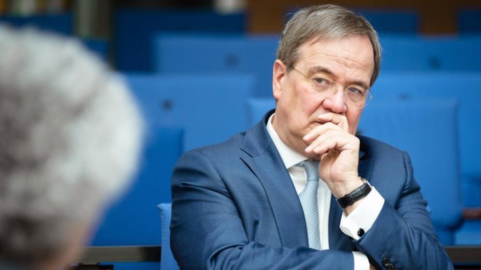 Armin Laschet tritt am 26. September bei der Bundestagswahl als Kanzlerkandidat der Union an.
