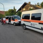 An der Singold bei Großaitingen kam es zu einem größeren Rettungseinsatz. Zwei Kinder wurden vermisst.