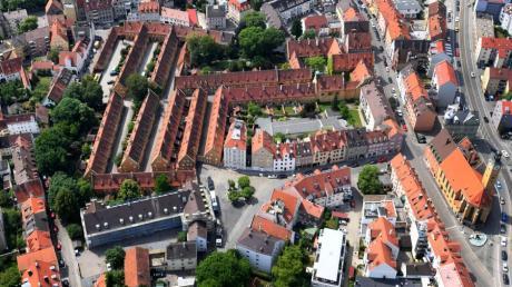 Die Fuggerei in Augsburg feiert 2021 ihr 500-jähriges Bestehen.
