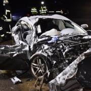 Mit diesem Auto hat ein 27-Jähriger nahe Monheim einen tödlichen Unfall verursacht - und steht jetzt unter Mordverdacht.