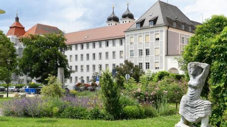 Der Hofgarten in Günzburg: Die Kreisstadt an der Donau bewirbt sich für die Landesgartenschau.