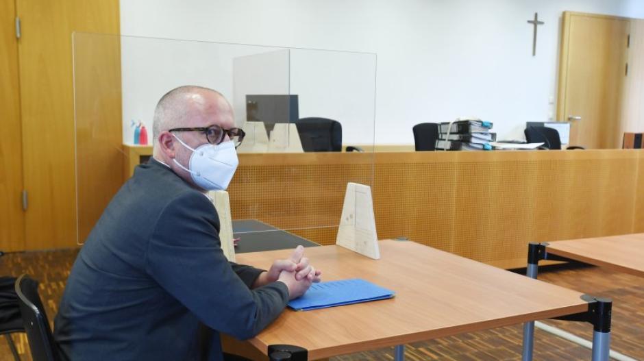Der Augsburger Freie-Wähler-Stadtrat Peter Hummel wurde vor Gericht verurteilt.