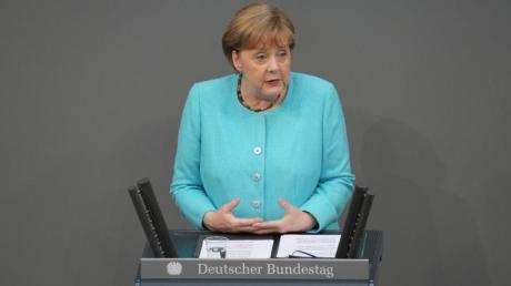 Hat Angela Merkel die AfD in ihrer Rolle als Kanzlerin oder als CDU-Mitglied kritisiert?