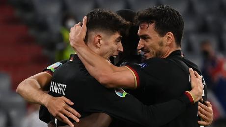 Kai Havertz ist bei dieser EM der bislang torgefährlichste deutsche Angreifer. Gegen England soll der Spieler von Chelsea London erneut eine Schlüsselrolle einnehmen.