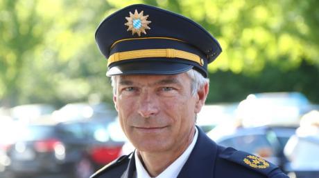 Polizeivizepräsident Guido Limmer verlässt das Präsidium in Kempten.