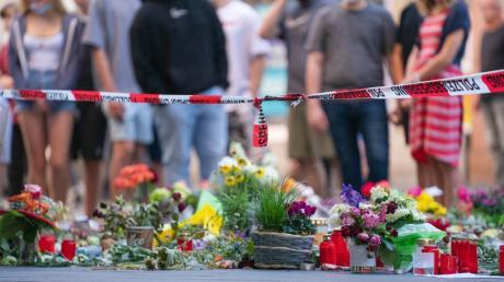 Der Attentäter ging in der Würzburger Innenstadt mit einem Messer auf Passanten los und tötete drei Frauen.