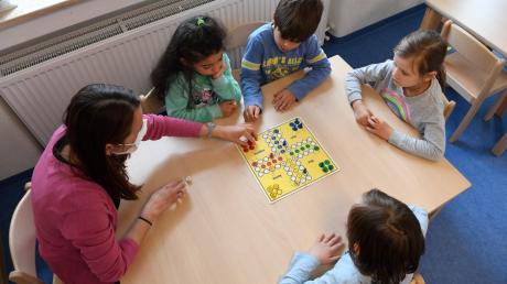 Die offene Ganztagsbetreuung an den Grundschulen in Stadtbergen erfreute sich in den letzten Jahren immer größerer Beliebtheit.