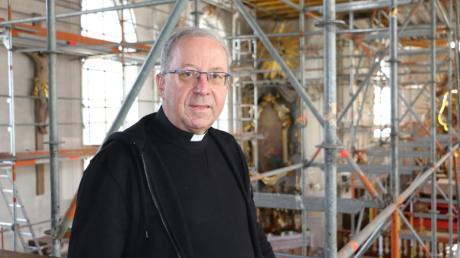 Wallfahrtsdirektor Monsignore Erwin Reichart muss in Maria Vesperbild auf eine ganze Reihe von Geistlichen verzichten, die an anderen Orten eingesetzt werden.