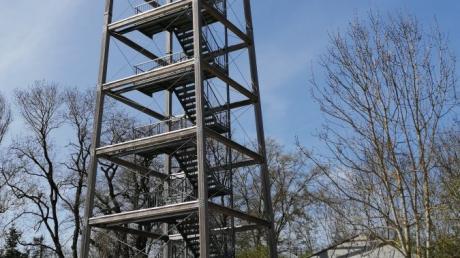 Der Offinger Aussichtsturm ist seit 2017 gesperrt. Jetzt gibt es nicht nur ein neues Konzept um den Turm zu sanieren, sondern auch die Zusage für einen stattlichen Zuschuss..