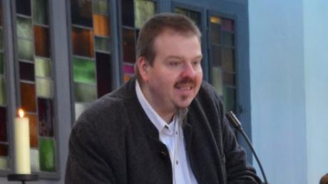 Thomas Kränzle während eines Gottesdienstes.