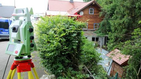 Ein Erdrutsch hat sich in Regglisweiler bei Dietenheim ereignet.