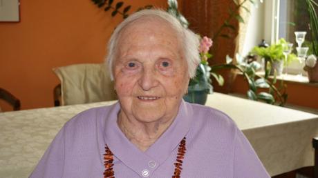 Auch zu ihrem 100. Geburtstag hat Leopoldine Girschikofsky keine großen Wünsche. Sie ist zufrieden mit ihrem Leben.