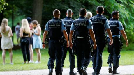 Die Polizei war am Schwömontag mit starken Kräften in Ulm vertreten, hatte aber kaum etwas zu tun.