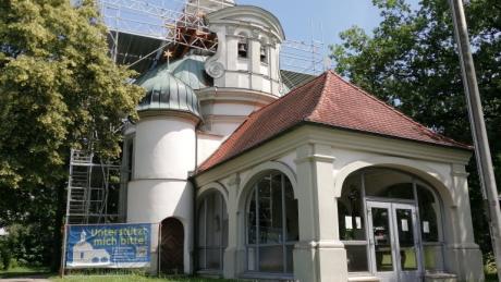 Seit einem Jahr ist die Friedberger Wallfahrtskirche Maria Alber an der Augsburger Straße eingerüstet. Im Herbst könnten die Arbeiten an dem barocken Kleinod starten.