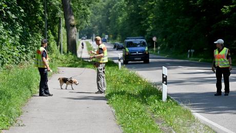 Mit über 100 Kräften wurde am Donnerstag nach der vermissten Frau rund um Thalfingen gesucht. Am Freitag wird die Suche fortgesetzt.