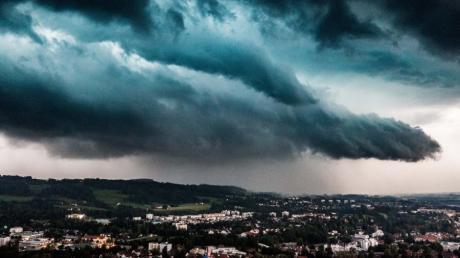 Auch im Allgäu gab es am Samstag Gewitter.