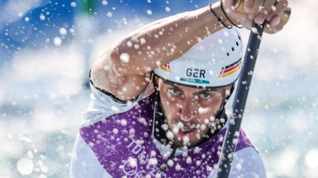 Holte Bronze in Tokio: Slalomkanute Sideris Tasiadis.