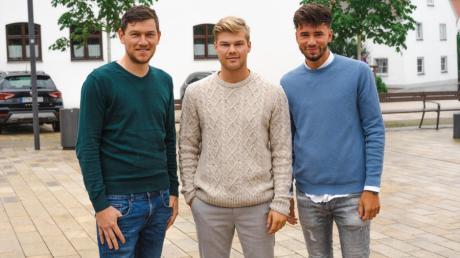 Die Gründer der Webseite Support My Hometown: von links Max Gartner, Tizian Fendt und Maximilian Vihl aus Ziemetshausen.