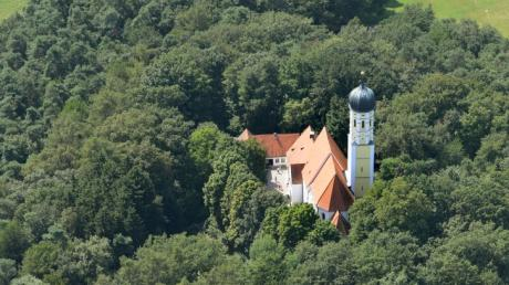Die Wallfahrtskirche Maria Beinberg in Gachenbach (Landkreis Neuburg-Schrobenhausen) wird saniert. Die letzte Messe wurde hier vor rund einem Monat gefeiert.