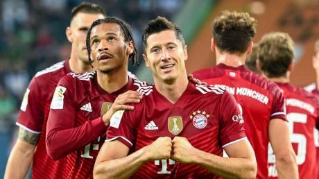 Robert Lewandowski ist hauptsächlich dafür verantwortlich, dass die Bayern in jedem ihrer 73 vergangenen Pflichtspiele getroffen haben.