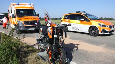 Auf der Staatsstraße zwischen Manching und Großmehring hat sich am Montag ein schwerer Unfall ereignet.