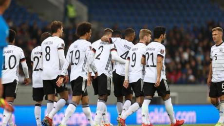 Die DFB-Elf gewinnt auf Island mit 4:0.