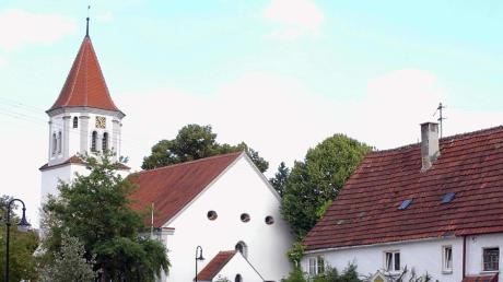 Die evangelische Kirche in Bächingen.