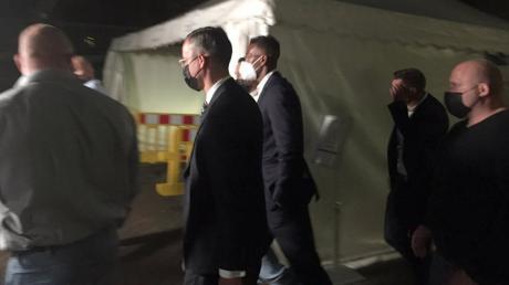 Jérôme Boateng verlässt das Amtsgericht, nachdem er wegen Körperverletzung verurteilt wurde.