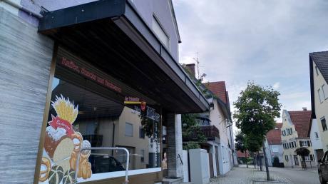 Die Filiale der Bäckerei Miller an der Mühlstraße in Burgau ist geschlossen.