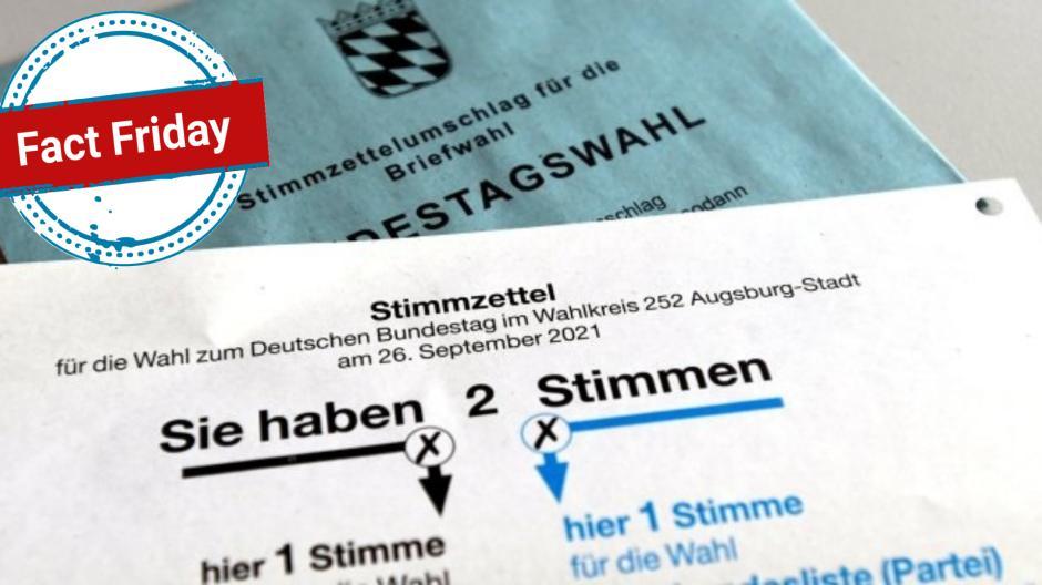 Bei der anstehenden Bundestagswahl hat jeder Stimmzettel entweder eine Lochung oder ein abgeschnittenes Eck rechts oben. Dies ist kein Hinweis auf Manipulation oder Betrug.