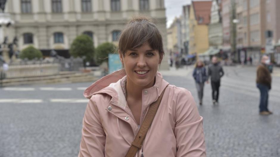 Alexandra Epp ist von keinem der Kanzlerkandidaten überzeugt.