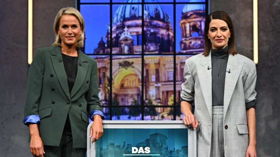 Die Moderatorinnen Claudia von Brauchitsch (links) und Linda Zervakis.