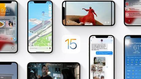 Ein stark überarbeitetes Facetime und viele weitere Neuerungen hat iOS 15 zu bieten.
