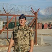 Insgesamt neun Monate war Rolf Hoppen in Afghanistan stationiert. Für den Einsatz hatte sich der Hauptfeldwebel der Reserve freiwillig gemeldet.