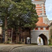 Der Innenhof am Roten Tor soll neu gepflastert werden.
