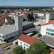Auch über den Neubau des Feuerwehrhauses in Günzburg wurde bei der Dienst- und Mitgliederversammlung gesprochen.