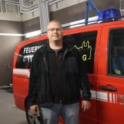 Christoph Stammer hat sich bei der Wahl gegen den amtierenden Feuerwehrkommandanten Christian Eisele durchgesetzt.