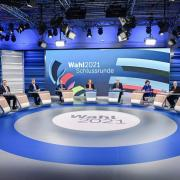 Der letzte verbale Schlagabtausch im TV vor der Wahl: Die sieben Spitzenkandidatinnen und -kandidaten der großen Parteien stritten sich auf Sendung.