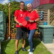 Die Thannhauserin Manuela Kenia und ihr Partner Dietmar Einerhand sind beide an Parkinson erkrankt. Ihr neues Hobby ist Tischtennis.