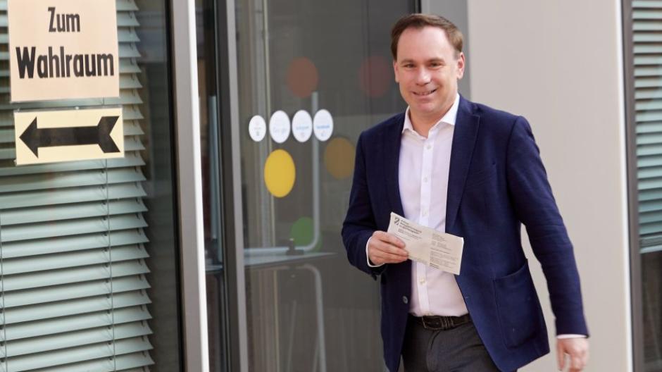 Volker Ullrich (CSU) hat nach dem aktuellen Stand die meisten Erststimmen im Wahlkreis Augsburg-Stadt geholt.