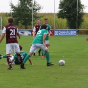 In der Partie Lauber SV gegen SG Buchdorf musste das Spiel abgebrochen werden, nachdem der Schiedsrichter zusammengebrochen war.