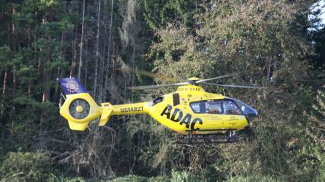 Ein Wanderin musste im Altmühltal von der Bergwacht geborgen werden und kam dann mit dem Hubschrauber ins Krankenhaus.