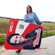 Mit einem Bein war sie schon drin im Bundestag. Doch am nächsten Morgen war der Traum vom Einzug in den Bundestag für Heike Heubach ausgeträumt.