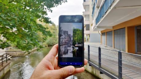Mit der App Future History lässt sich Ulm erkunden.