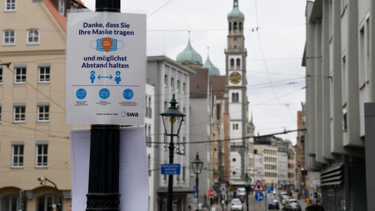 News Blog Corona in Augsburg Zwei weitere Todesfälle, Inzidenz ...